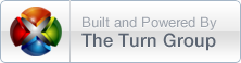 Built and Powered Hosting by The Turn Group