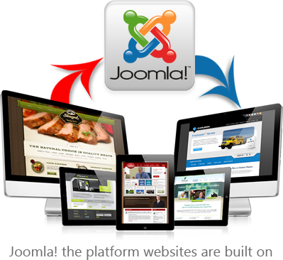 Joomla CMS is used for website platforms