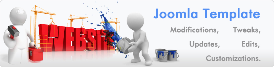 Joomla 3rd Party Template Modifications, Updates, Edits and Tweaks