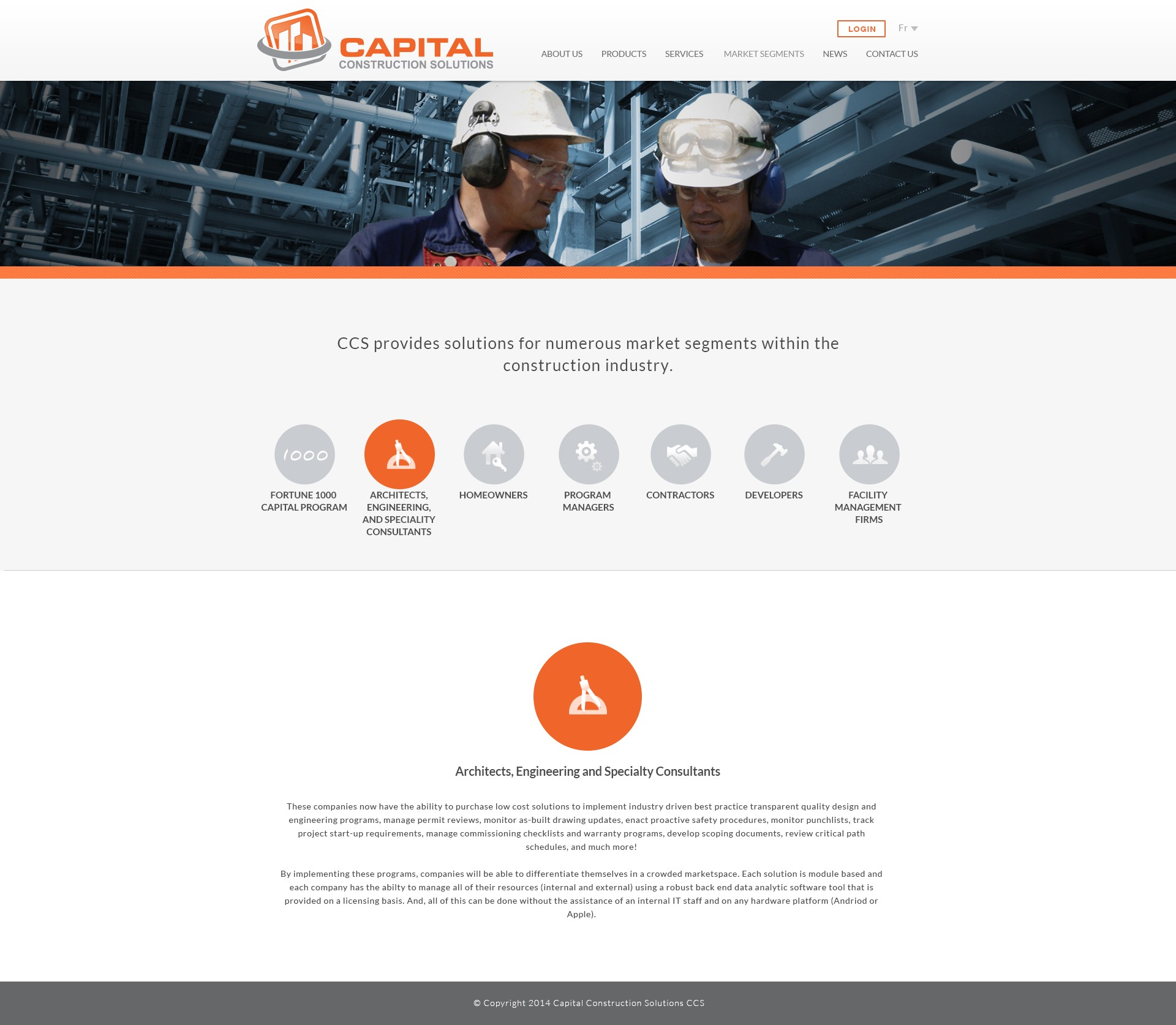 Construction - Commercial and Residential Website Design Services