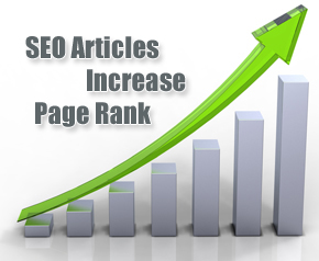 How to increase your page rank with SEO Articles